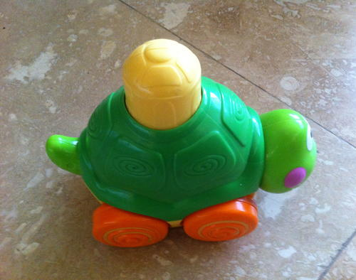 Fisher Price Go Baby Go, Press And Crawl Turtle