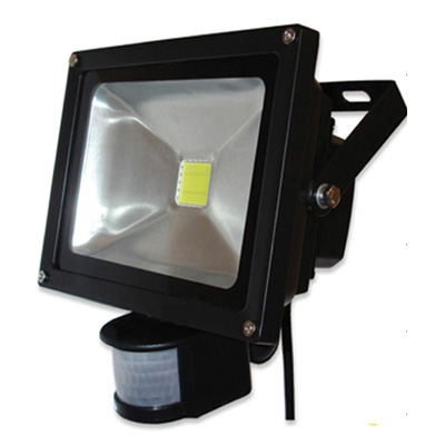 spot lights flood lights 30w led floodlight with motion sensor. Black Bedroom Furniture Sets. Home Design Ideas