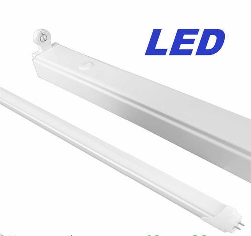 Led Light Fittings Durban: 1x Open Channel LED Tube Fitting For T8