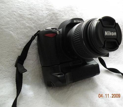 nikon d60 kit. Nikon D60 SLR + 18-55 II Lens