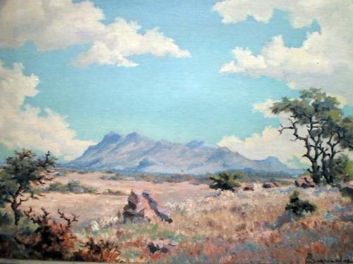 Oils - Johannes Borman - 1944 South West Africa ...