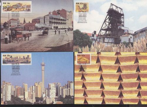 (原创)看邮票识南非36:黄金之城约翰内斯堡 - 六一儿童 - 译海拾蚌