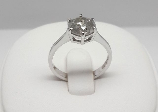 engagement rings 2 01ct 6 claw solitaire