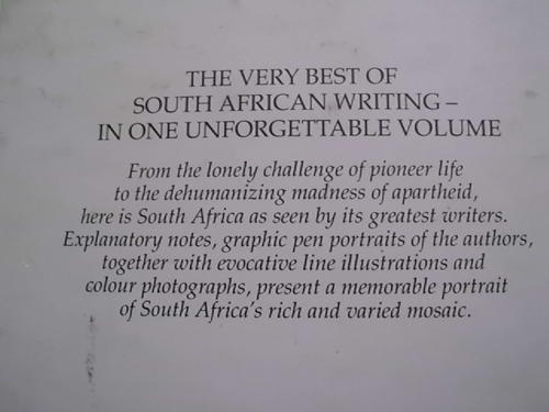 Essays on south african short stories