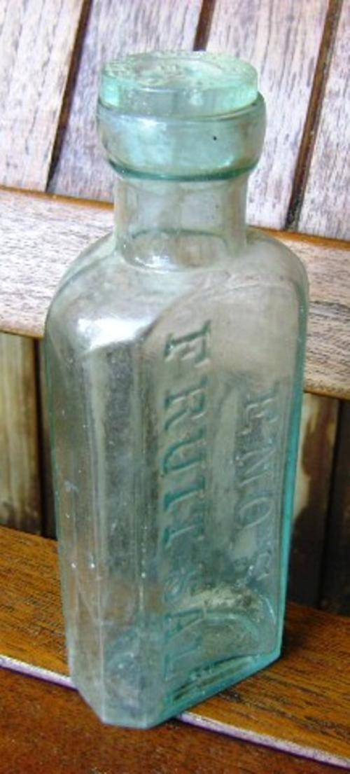 Eno S Tarots Original Rider Waite Tarot: ENO'S FRUIT SALT BOTTLE WITH CAP BOTTLE Was Sold