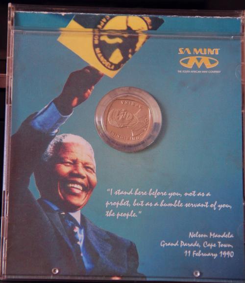 Rare 2000 Mandela R5 Coin (Nelson mandela Grand Parade 1990)