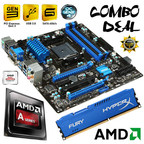 Motherboard Amp CPU Bundles
