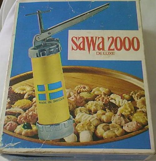 how to use a sawa cookie press