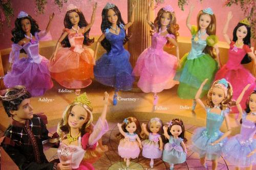 1000 images about barbie on pinterest barbie collector - Barbie 12 princesse ...