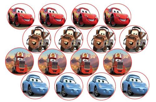 Edible Cake Decorations Cars : Cake Decorating - Cars Edible Picture Cupcake Toppers was ...