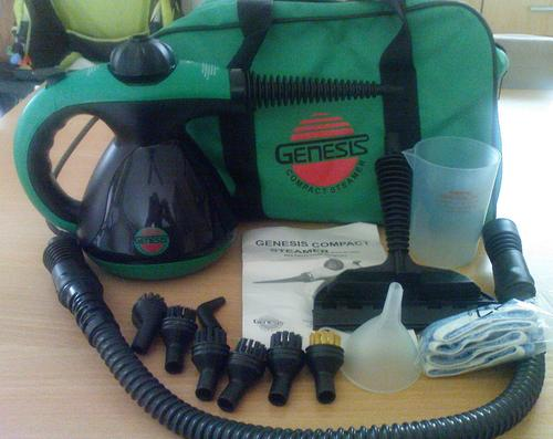 cleaning machine steam cleaners genesis green pact steam cleaner like new very good condition r1 no reserve was - Green Machine Carpet Cleaner
