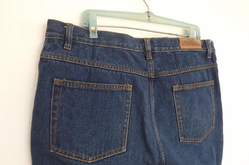 Jeans - Silver Dollar Blue Denim Jeans in 100% Cotton size 36 ...