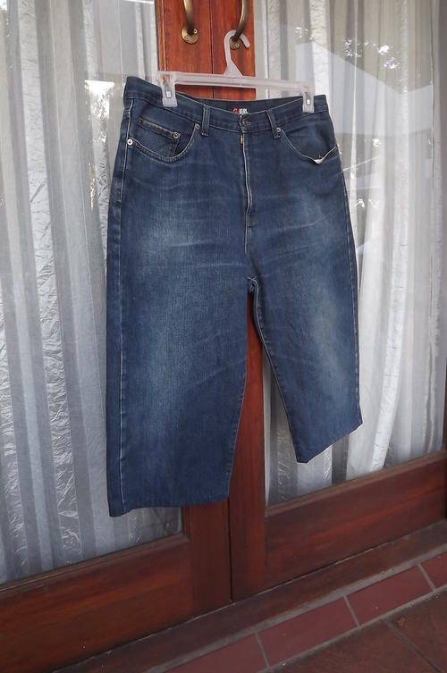 Jeans - Menu0026#39;s blue cropped Relay jeans size 38 in 100% cotton. Good condition. was sold for R49 ...