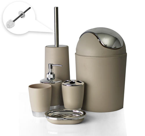 bathroom accessories 6 piece bathroom accessory set On bathroom accessories johannesburg