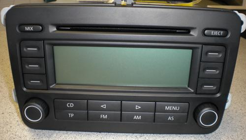 audio head units vw golf v jetta polo 2006 2008. Black Bedroom Furniture Sets. Home Design Ideas