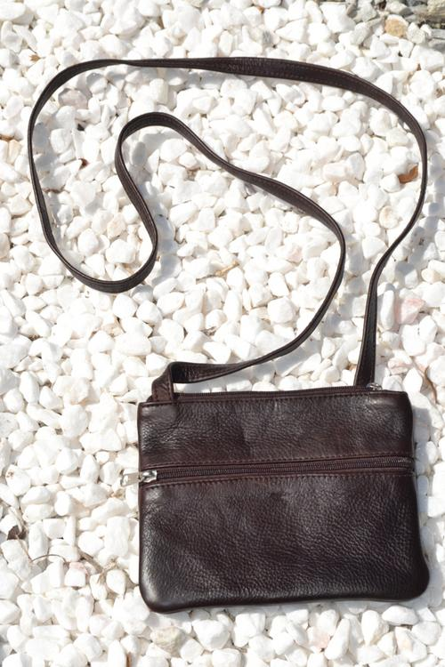sling bag genuine leather