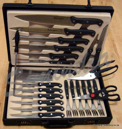 other cutlery knives perfect gift chefs knife and steak fork set 24 piece presented in a. Black Bedroom Furniture Sets. Home Design Ideas