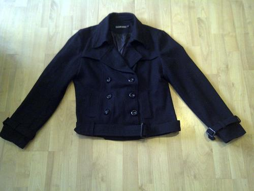 Black Short Jacket Size Large