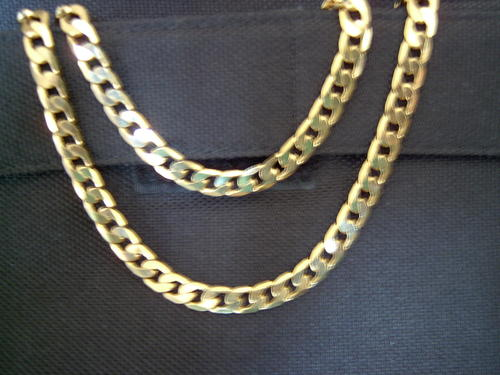 chains necklaces large link mens neck chain 9ct gold. Black Bedroom Furniture Sets. Home Design Ideas