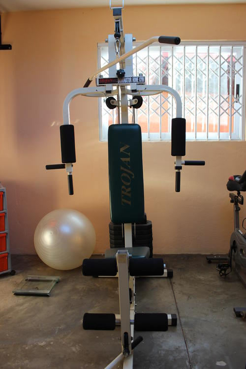 Exercise machines trojan personal fitness dominator home