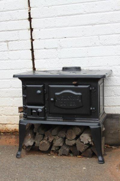 WHAT AN ABSOLUTE BARGAIN & WINTER IS NOT THAT FAR AWAY! - Architectural Antiques - A STUNNING 'WELCOME DOVER' CAST IRON 5