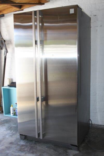 Fridges Amp Freezers Aeg Santo Silver Double Door Fridge