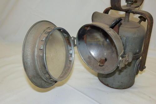 Carbide Car Headlights : Rail an amazing rare vintage sar sas carbide acetylene