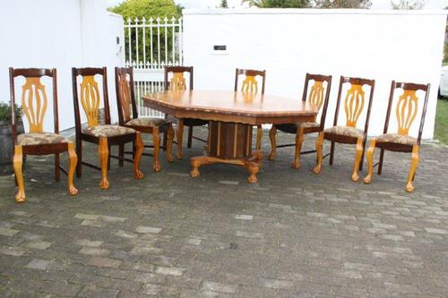 Other furniture a magnificent yellow wood imbuia 8 for 8 seater dining room suites
