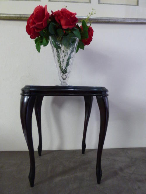 Tables Wow A Gorgeous Queen Anne Side Table Perfect