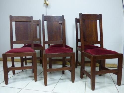 Chairs Stools Footstools 6 FABULOUS TEAK UPHOLSTERED VINTAGE