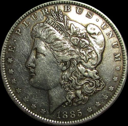 Fort Morgan (CO) United States  city pictures gallery : The Americas 1885 United States Silver Morgan Dollar for sale in ...