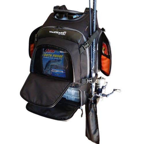 Other fishing tinflint angler fishing backpack was for Backpacking fishing rod