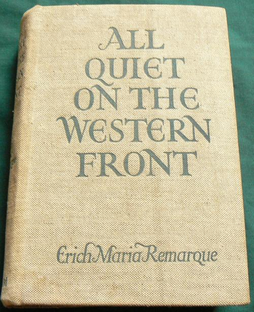 all quiet on the western front book review essay Erich maria remarque all quiet on the western front translated from the german by a w wheen fawcett crest this book is to be neither an accusation nor a confession, and least of all an adventure, for death.