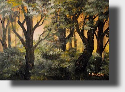 Painting Forest Scenes Painting Forest Scenes
