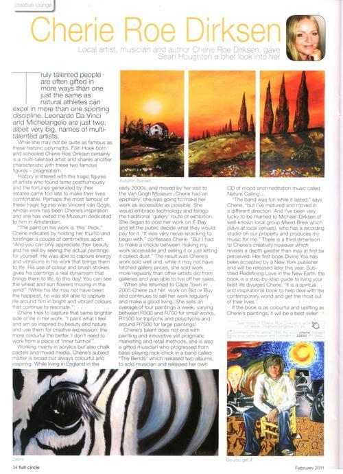 Full Circle Magazine Article on Cherie Roe Dirksen