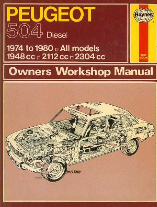 workshop manuals haynes 0663 peugeot 504 diesel 1974 to. Black Bedroom Furniture Sets. Home Design Ideas