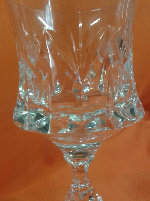 Drinking Glasses Stemware Beautiful Set Of 6 Wine