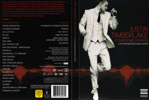 Justin Timberlake - FutureSex/LoveShow Blu-ray: Amazon
