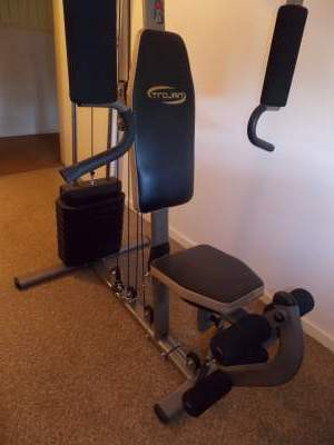 trojan meridian home gym assembly instructions