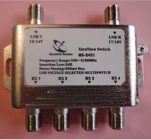 Satellite Tv Splitters Amp Switches 2x4 Multi Switch For