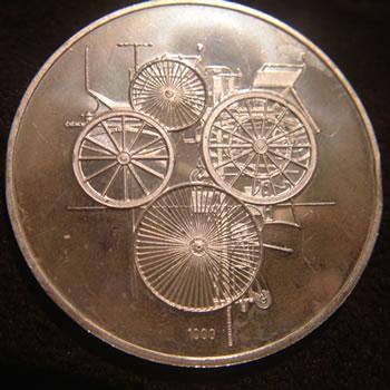1000 Fine Silver medallion by www.fine999.com