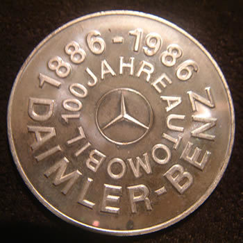 1000 fine silver mercedes medallion by www.fine999.com