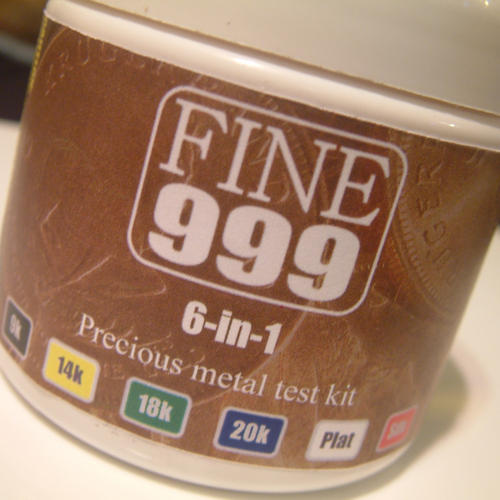 6-in-1 Precious Metal Test Kit by www.fine999.com