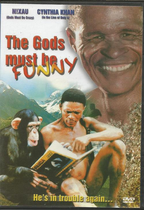 the gods must be crazy film Xi plans to throw the unwanted artifact of modern civilization off the edge of the world and in his trek encounters modern people film's main virtues are its striking, widescreen visuals of unusual locations, and the sheer educational value of its narration the gods must be crazy botswana production: cat.