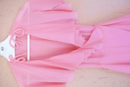 Dresses - Pink Caviar Chiffon Cocktail Dress - Size 34 was sold for ...