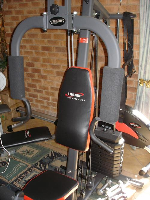 Exercise equipment trojan olympiad homegym with