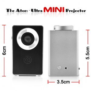 The Atom - Ultra Mini Projector