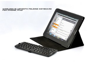 Mini Bluetooth Keyboard for Android, iPhone, iPad, iPad 2, PS3, More