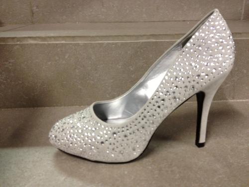 Shoes Stunning Diamanted Suede High Heel Size 3 8 In