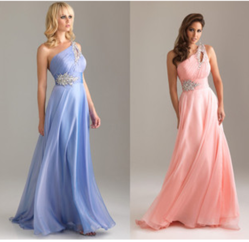 Formal Dresses - *Special* Gorgeous One Shoulder Chiffon Formal ...